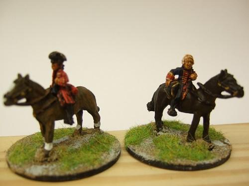 2 mounted commanders