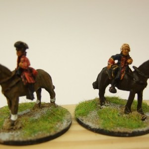 2 mounted commanders