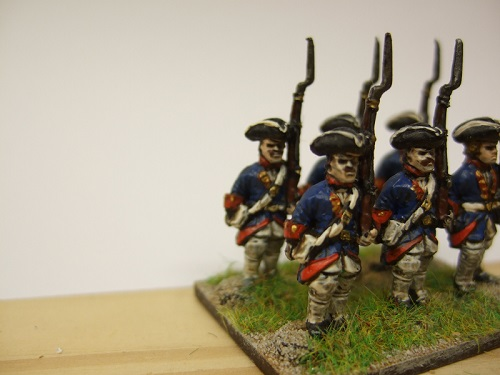 Grenadier turnback tricorn x 6