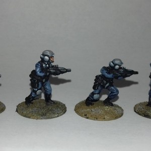Androis Army Riflemen, 20mm Sci fi