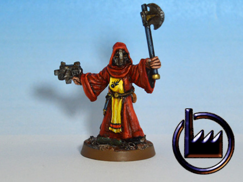 Cultist Axe and Pistol