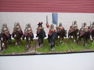 Cuirassier unit 12 figures