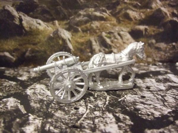 6pdr Galloper gun and horse