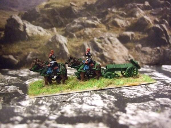 French Napoleonic ammo wagon