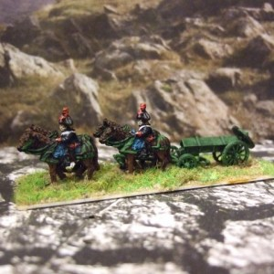 French Napoleonic ammo wagon