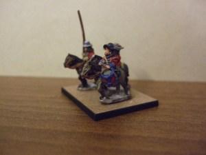 Dragoon mounted command 3 figures