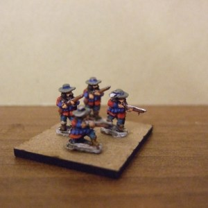 Dismounted Dragoons x10 mixed
