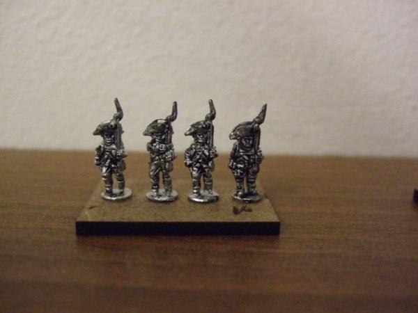 30x British Infantry Bicorn