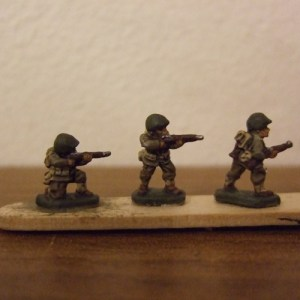 3 Riflemen different poses