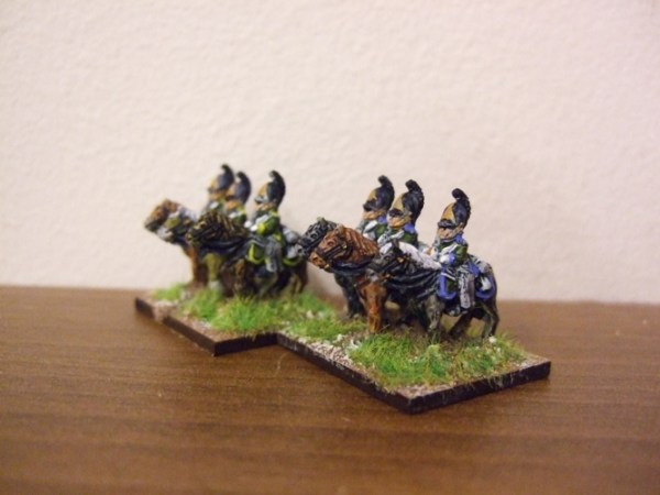 Russian Dragoons x4