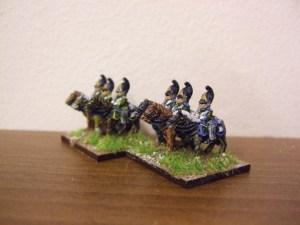 Russian Dragoons x4
