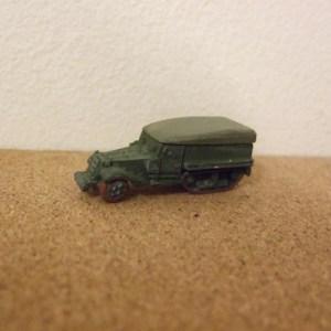 M3 Halftrack with removable tilt