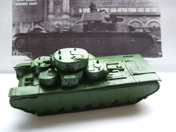T-35 Russian multi turret