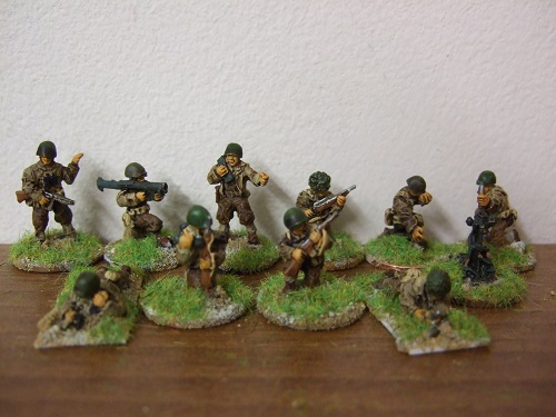 platoon command section staionary