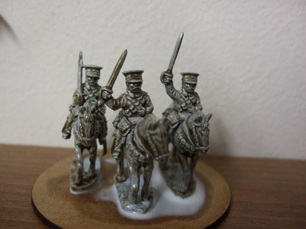 BEF 3 Troopers plus horses