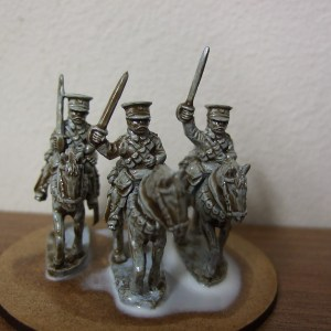 BEF 3 Troopers plus horses