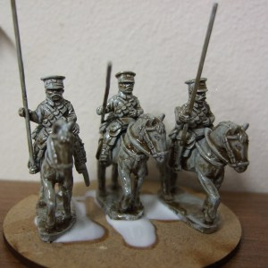 BEF 3 Lancers with horses
