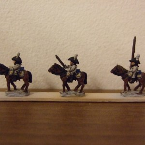 Cuirassier Command 3 figures