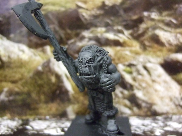 Orc Boss with axe