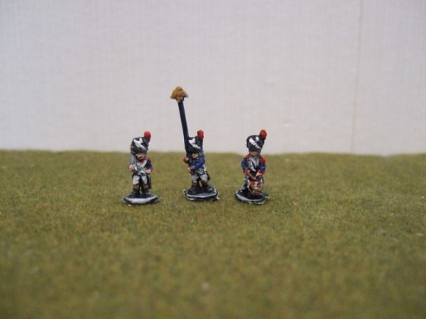 Grenadiers bearskin command