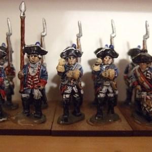 SYW Prussian standard bearer 2 per pack