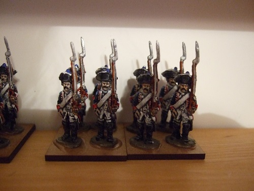 Basic line infantry x6 per pack