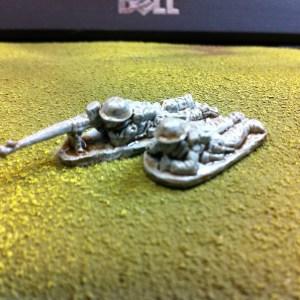 Boys anti tank rifle and loader