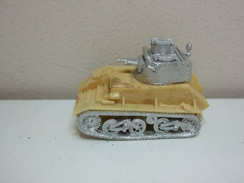 Vickers light tank Mk V1B