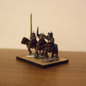 Scottish mounted command 3 figures