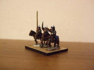 Scottish mounted command 3 figures