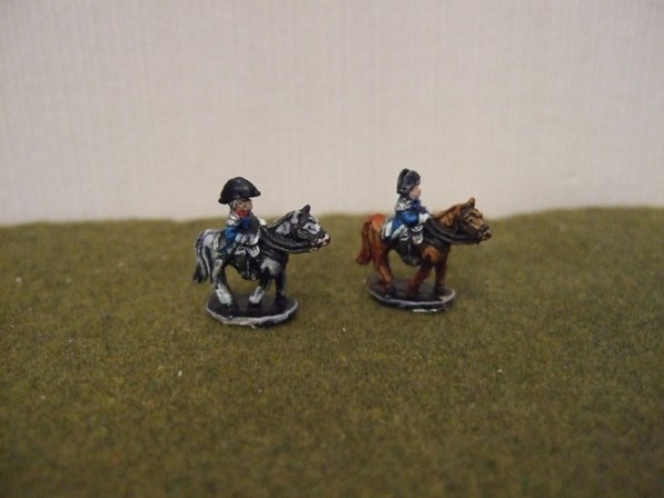 French mounted commanders
