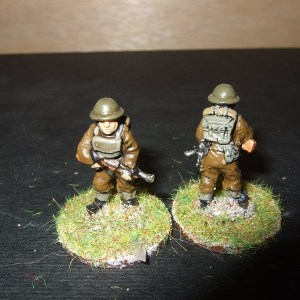 2 NCO advancing with Thompsons