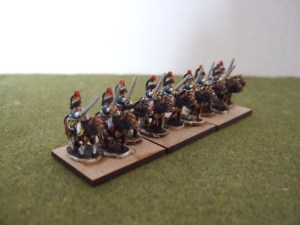 French Cuirassiers x4