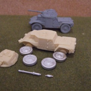 Panhard armoured car