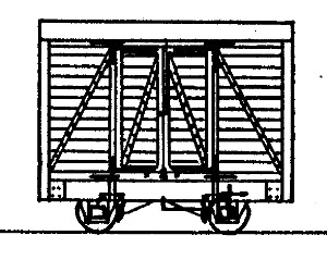 4-Wheel Goods Van (based on Glyn Valley Van)