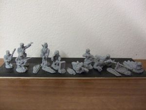 R5 platoon command section in action 10 figures