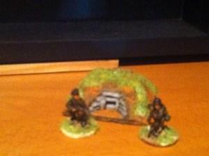 Easter front HMG bunker higher profile than LM72.