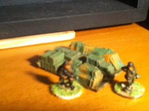 Supply depot or objective marker