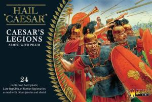 Caesar's legion armed with pilum