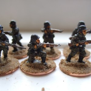 6 infantry without backpacks with jackboots