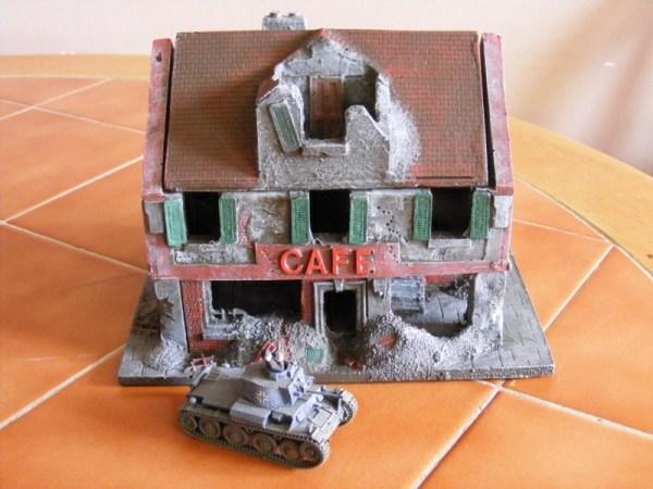 Ruined Cafe