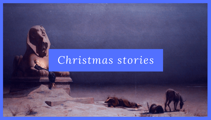 the best christmas stories christmas readings audio flight to egypt painting - Best Christmas Stories