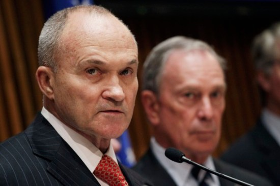 Ray Kelly and Michael Bloomberg