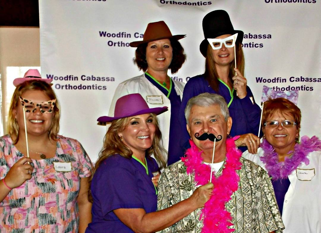 Dr. Lance Washburn and staff