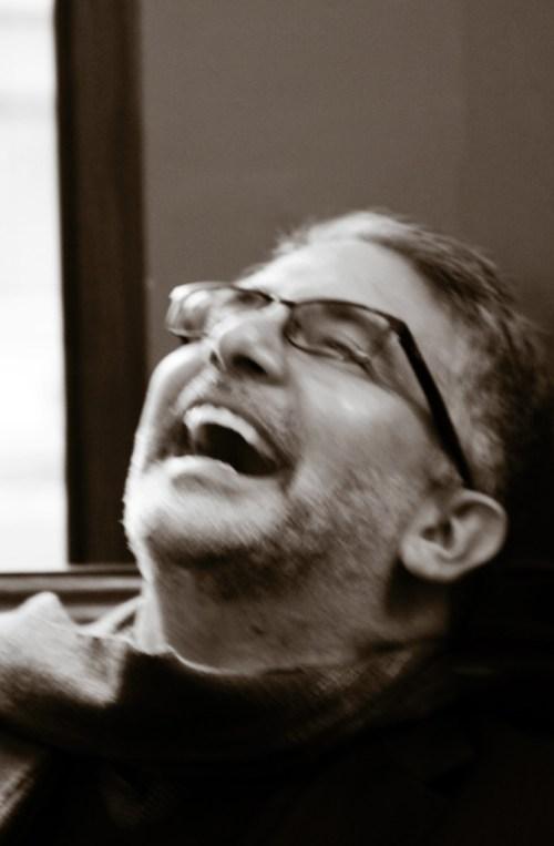 Andrew-laughing-sepia - Image (c)Lancia E. Smith