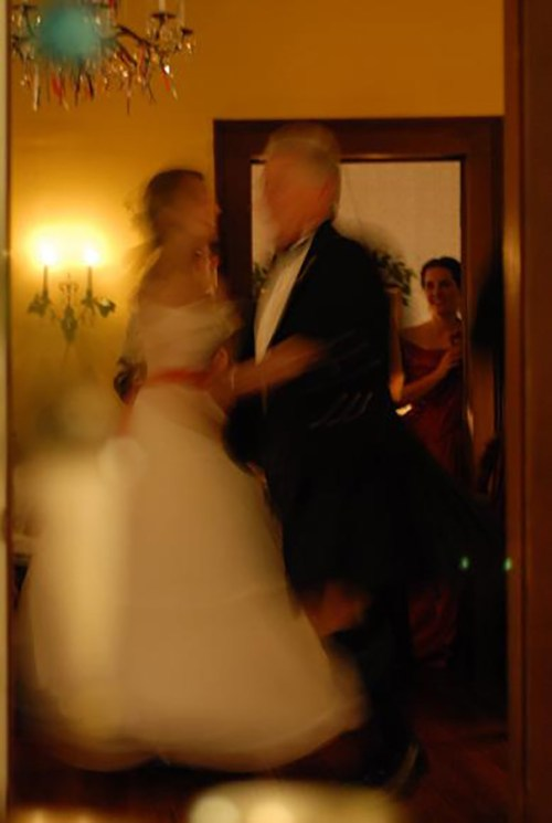 Dancing with Daddy at my Christmas party, 2005 - from Seeds of Love