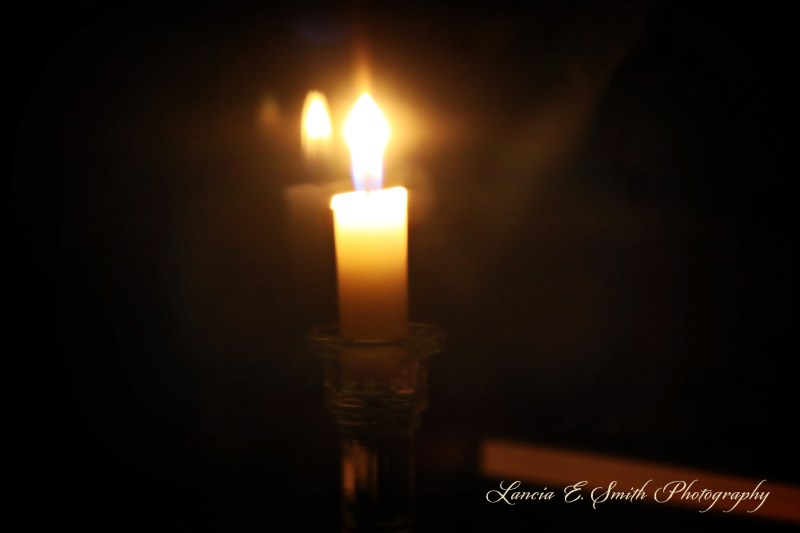 A candle of waiting - Image (c) Lancia E. Smith