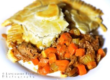 Gluten Free - Beef brisket, Carrot and Celery Pie