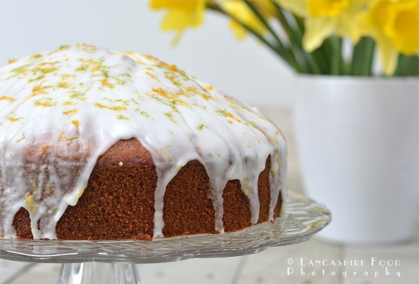 Gluten Free Spring Lemon and Lime Drizzle Cake