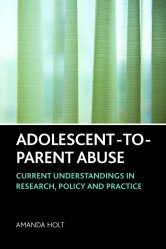 book front cover adolescent to parent abuse